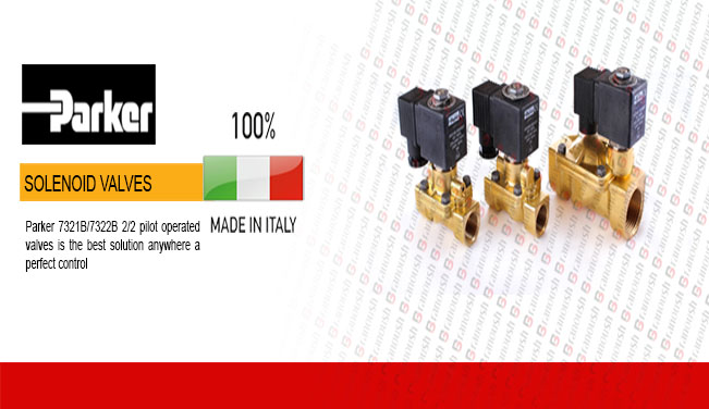 نمایندگی محصولات پارکر PARKER ایتالیا